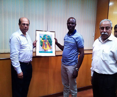 Mr. Hassan Basajabalaba- Member, University Council, Kampala International University, Uganda, visited Heritage Institute of Technology Kolkata ON August 17, 2016
